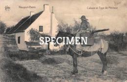 Cabane Et Type De Pêcheur - Nieuport - Nieuwpoort - Nieuwpoort