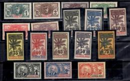 Haut-Sénégal Et Niger Maury N° 1/17 Neufs *. B/TB. A Saisir! - Unused Stamps
