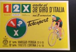 ITALIA 1955 CICLISMO 38 GIRO D'ITALIA GAZZETTA DELLO SPORT TAPPA JESOLO - TRIESTE - Radsport