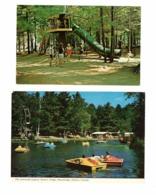 4 Different BRACEBRIDGE, Ontario, Canada,  Santa's Village, 1976 Chrome & 3 1980 4X6 Postcards, Muskoka County - Kitchener