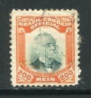 BRESIL- Service Y&T N°5- Oblitéré - Dienstzegels