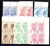 Roumanie YT N° 3976A/3976F En Blocs De Quatre Timbres Neufs ** MNH. TB. A Saisir! - 1948-.... Republiken