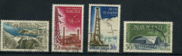 FRANCE   Réalisations Techniques   N° Y&T  1203 à 1206  (o) - Usados