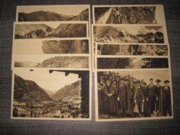 ANDORRA-ANDORRE-CARNET DE 20 CARTES POSTALES - CLAVEROL- - Andorre