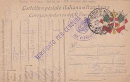 FRANCHIGIA - VIAGGIATA POSTA MILITARE - 13° CORPO ARMATA  - VIAGGIATA PER  MILANO - 1900-44 Victor Emmanuel III