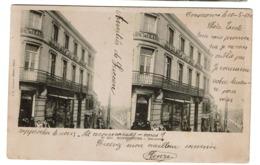 Bonsecours - Peruwelz - 1902 - Magasins Du Bon Marché - Carte Stéréo - Editeur J.B. Talabot Photo Paris - 2 Scans - Péruwelz