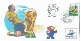 Algérie-Algeria-RARE Enveloppe Philatelique Tirage Limitée Coupe Du Monde France 1998- - 1998 – Frankreich