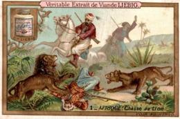 LIEBIG  AFRIQUE CHASSE AU LION - Liebig