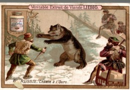 LIEBIG  RUSSIE CHASSE A L OURS - Liebig