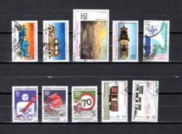 Turquía  1986-87  .-  Y&T  Nº   2512/2513-2516-2519-2520-2522/2524-2533/2534 - 1921-... República