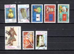 Turquía  1987  .-  Y&T  Nº   2538/2539-2540/2541-2543-2547-2548-2549 - 1921-... República