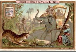 Chomo Liebig, S232, La Chasse Dans Les Differents Pays, 5, Inde, Chasse Au Tigre - Liebig