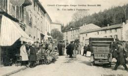63   CIRCUIT D'AUVERGNE COUPE GORDON BENNETT 1905 UNE HALTE A PONGIBEAUD - France