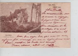 CBPNCPB2/ Belgique-België CP Oud-Heist 't Hof Van Riemen 1901 C.Heyst-Op-Den-Berg > Grammont - Heist