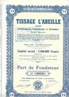 Tissage L'Abeille - Deerlijk - Textiel