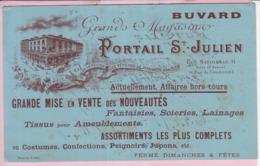 Buvard Commerce Magasin Ancien Tours Portail Saint Julien Dames De Touraine 1 - Carte Assorbenti