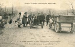 63   CIRCUIT D'AUVERGNE COUPE GORDON BENNETT 1905   MR DESSON CAPITAINE DE ROUTE - France