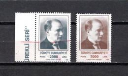 Turquía  1989  .-  Y&T  Nº   2610/2611 - 1921-... República