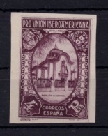 España 1930. Pro Union Iberoamericana. Ed 579s Variedad Impresion En Reverso. - Variedades & Curiosidades