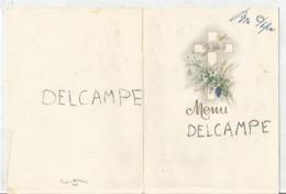 Menu De Pâques Le 10 Avril 1960. - Menus