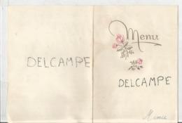 Menu Du Mariage De H.et M. - Menus