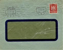 Deutsches Reich - Umschlag Echt Gelaufen / Cover Used (A974) - Briefe U. Dokumente