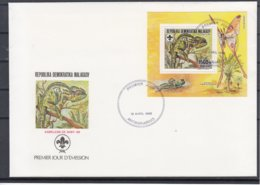 Republika Demokratika Malagasy / FDC - Briefmarken