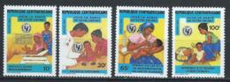 Centrafrique YT 636-639 XX/MNH - Central African Republic