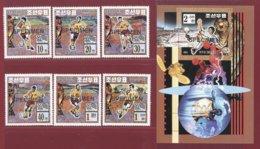 Korea 1994, SC #3394-00, 6V+S/S, Specimen, USA World Cup, Football - Fußball-Weltmeisterschaft