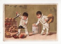 Chromo LIEBIG   Pierrots   Cuisine, Balance     Testu Et Massin       11 X 7.4 Cm - Liebig