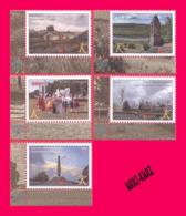 TRANSNISTRIA 2019 Tourism Architecture Powder Magazine In Tiraspol Fortress Tower Kitskany Monastery Monument 5v MNH - Unclassified