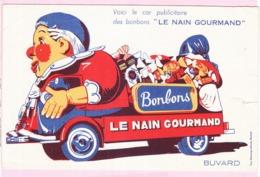 Buvard Confiserie Bonbons Le Nain Gourmand - Alimentos