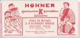Buvard Musique Harmonicas Accordéons HOHNER - Buvards, Protège-cahiers Illustrés