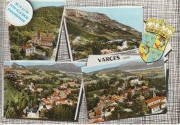 38 - Très Belle Carte Postale Semi Moderne Dentelée De  VARCES   Multi Vues - Other Municipalities