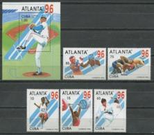Cuba 1996 / Atlanta Olympic Games MNH Juegos Olimpicos Olympische Spiele / Cu9814  29-20 - Verano 1996: Atlanta