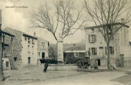 63  AULHAT  LA PLACE AVEC ROULOTTE - France