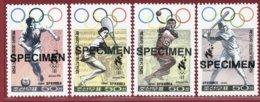 Korea 1996, SC #3564-67, Specimen, Atlanta Olympic Games - Tennis