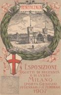 Lombardia - Milano - Esposizione Oggetti Di Necessità E Di Lusso (Porta Genova) 1907 - - Milano (Milan)