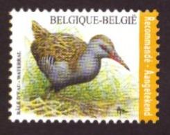 Belgique   2017 - Birds - Rallus Aquaticus  NEUF - Côte € 8.00 Registrered Letter Stamp - Neufs