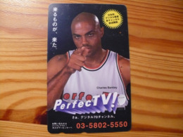 Phonecard Japan 110-011 Basketball - Giappone