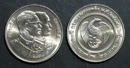 Thailand Coin 20 Baht 1995 120th Ministry Of Finance Y298 UNC - Thailand