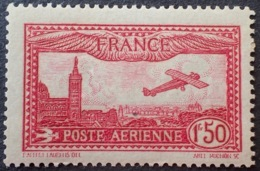 R1615/1107 - 1930 - POSTE AERIENNE - AVION SURVOLANT MARSEILLE - N°5 NEUF* (quasi NEUF**) - 1927-1959 Mint/hinged