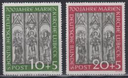 BRD 1951 - Michel 139-140 Postfrisch MNH** - Nuovi