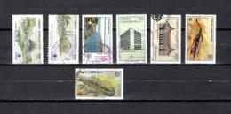Turquía  1990  .-  Y&T  Nº   2629/2630-2633-2634/2635-2637/2638 - Usados