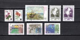 Turquía  1990  .-  Y&T  Nº   2644/2645-2649-2652/2653-2658/2659-2661 - Usados