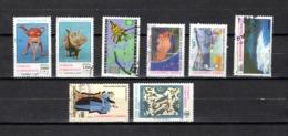 Turquía  1991  .-  Y&T  Nº   2664/2665-2668-2669-2671-2672-2678-2680 - Usados