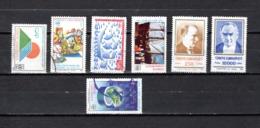 Turquía  1991-92  .-  Y&T  Nº   2682-2684-2695-2697-2698/2699-2701   (  2695  Falta Punta  ) - Usados
