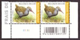 Belgique   2017 - Birds - Rallus Aquaticus  NEUF - A Saisir!! - Belgium
