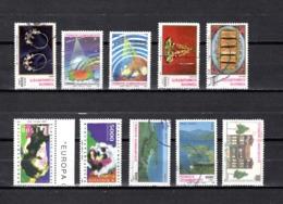 Turquía  1993-94  .-  Y&T  Nº   2754-2758/2759-2763/2764-2765/2766-2767/2768-2770 - Usados
