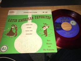 Noro Morales & His Orchestra – Latin American Favorites - Spezialformate